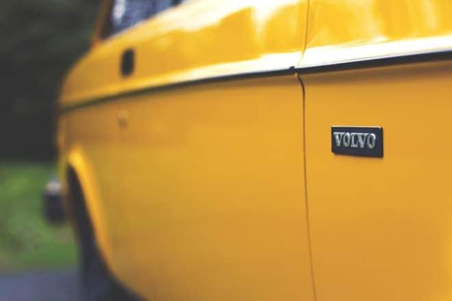 Photo d'illustration. Un modèle ancien de Volvo.