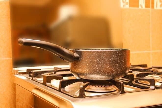 Une casserole. Image d'illustration.