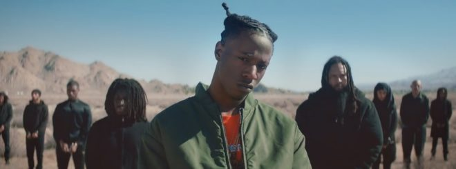"""Joey Bada$$ dans son clip """"Land of the Free"""""""