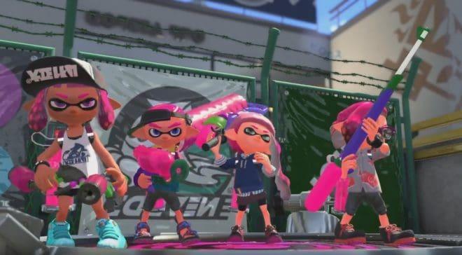 Splatoon 2 sur Nintendo Switch