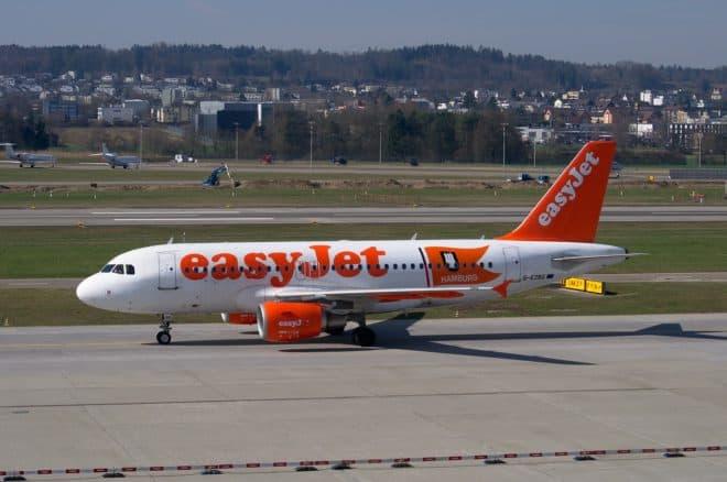 Un Airbus de la compagnie aérienne Easyjet. Image d'illustration.