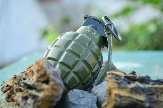 Une grenade. Image d'illustration.
