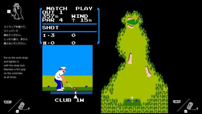 """Émulation Switch du jeu """"Golf"""" sorti sur NES"""