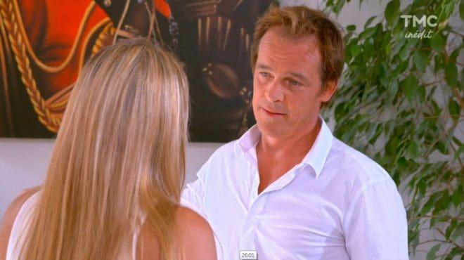 """Hélène et Peter (Les Mystères de l'Amour saison 15, épisode 18 """"Retours de vacances"""")"""