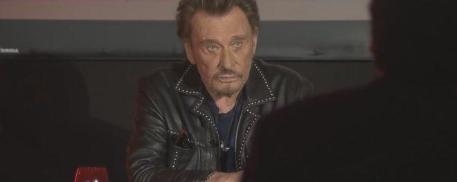 Johnny Hallyday en 2017