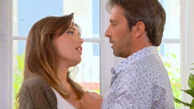 """Fanny et Christian (Les Mystères de l'Amour saison 15, épisode 24 """"Espoirs déçus')"""