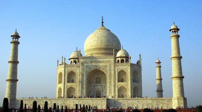 Taj Mahal (Inde). Image d'illustration.