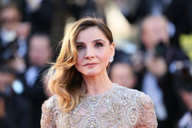 Clotilde Courau au Festival de Cannes en 2017.