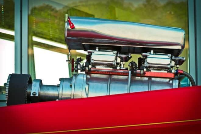 Un dragster. Image d'illustration.