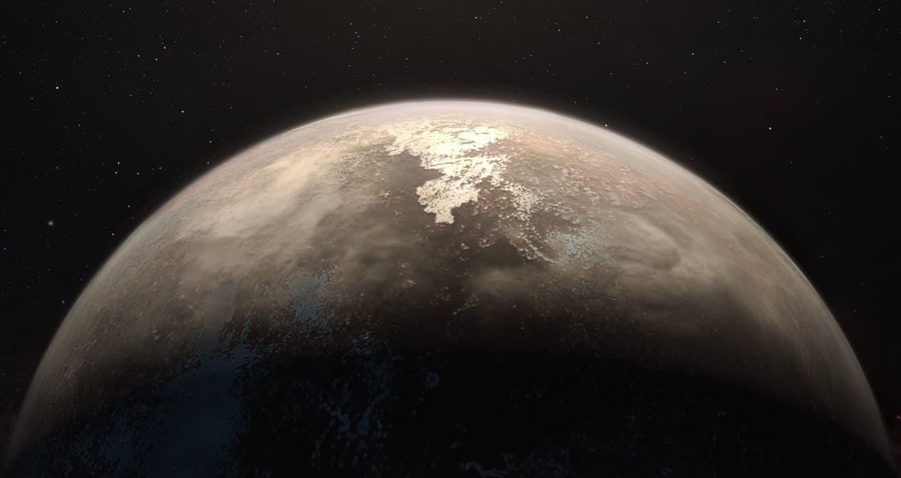 Nouvelle découverte d'une exoplanète susceptible d'abriter la vie