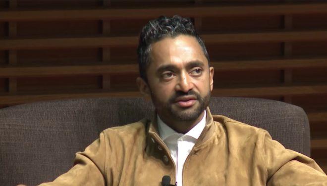 Chamath Palihapitiya à l'occasion d'une conférence en novembre 2017.