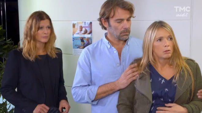"""Laly, Nicolas et Hélène (Les Mystères de l'Amour saison 16, épisode 15 """"Par élimination"""")"""