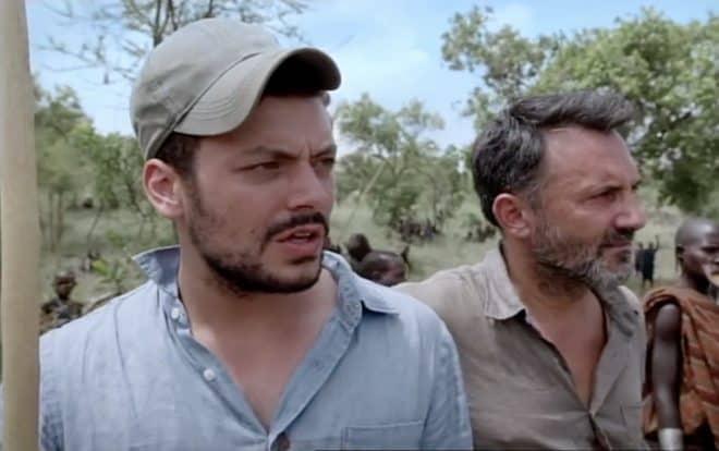 Kev Adams et Frédéric Lopez dans Rendez-vous en terre inconnue.