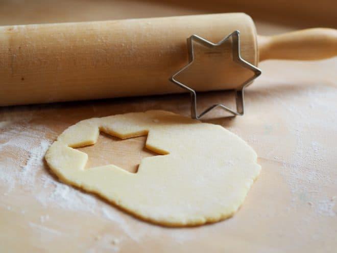 Illustration. De la pâte à biscuit.
