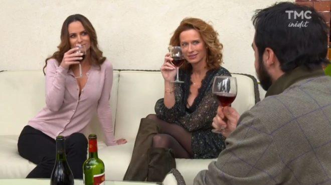 """Ingrid, Audrey et Julo (Les Mystères de l'Amour saison 16, épisode 26 """"Très fâchée"""")"""