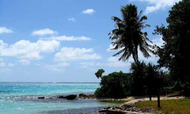 Îles Kiribati. Image d'illustration.