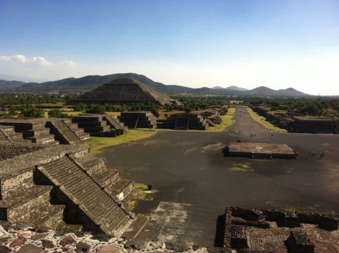 Le site de Teotihuacan, au Mexique.