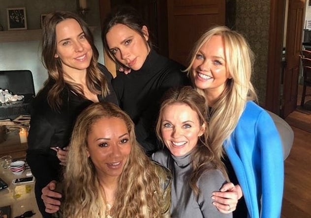 Les Spice Girls en 2018