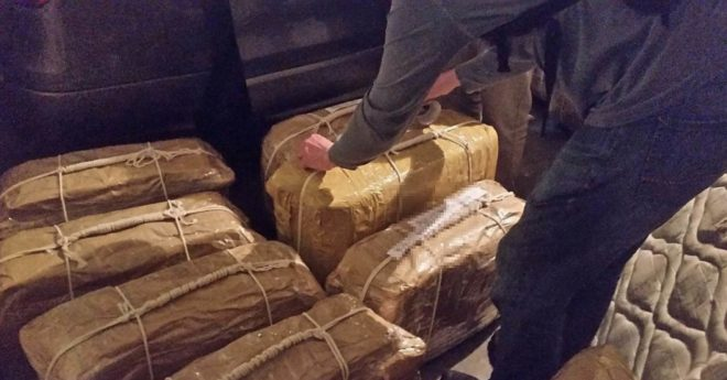 La drogue retrouvée dans l'ambassade russe à Buenos Aires.
