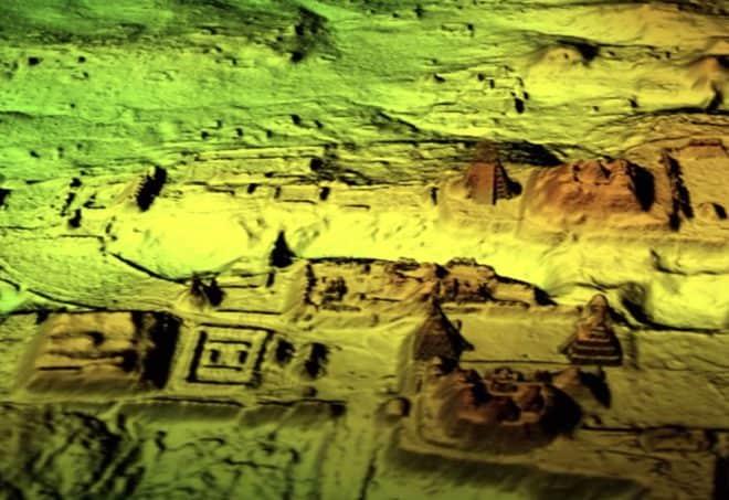 Les ruines de la cité maya débusquées grâce à la technologie LiDAR