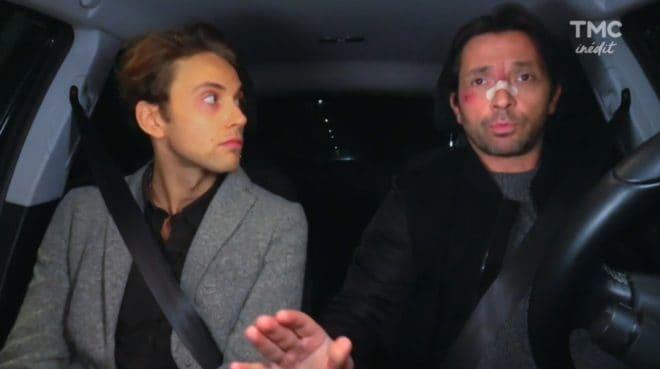 """Sylvain et Christian (Les Mystères de l'Amour saison 17, épisode 12 """"Otages"""")"""