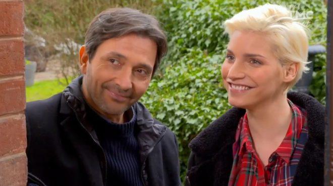 """Christian et Nadège (Les Mystères de l'Amour saison 17, épisode 4 """"Changements de partenaires"""")"""