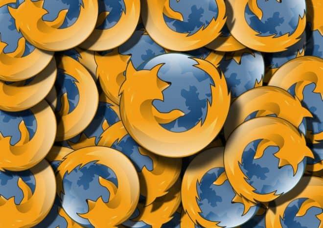 Le navigateur Internet Firefox.