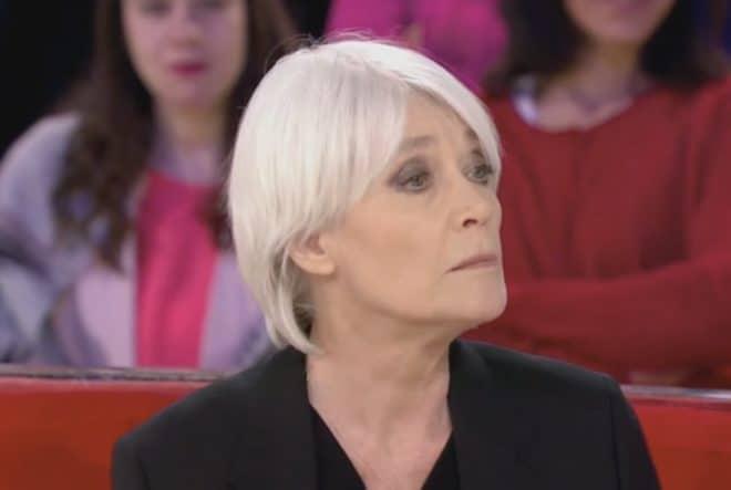 Françoise Hardy dans Vivement Dimanche en mars 2018.