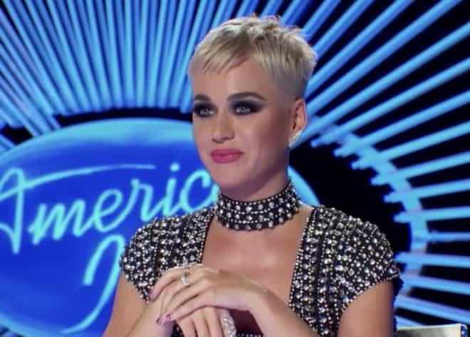 Katy Perry, juré dans American Idol.