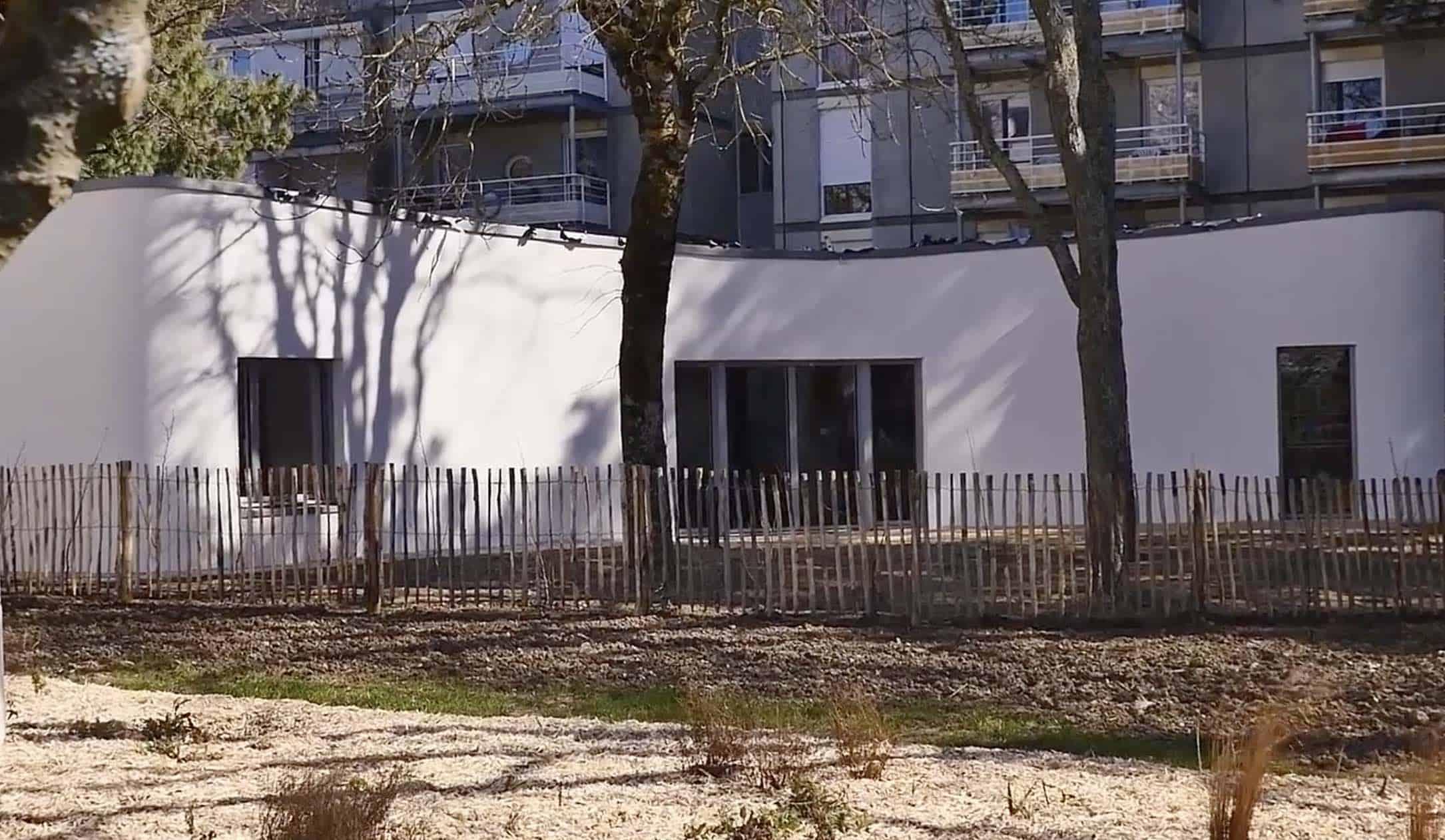 Nantes le premier logement social imprim en 3d est for Construction maison 3d a nantes