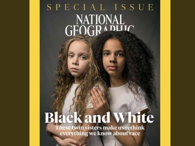 La couverture d'avril 2018 de National Geographic.