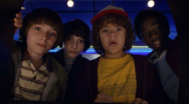 Les jeunes acteurs de la série Stranger Things