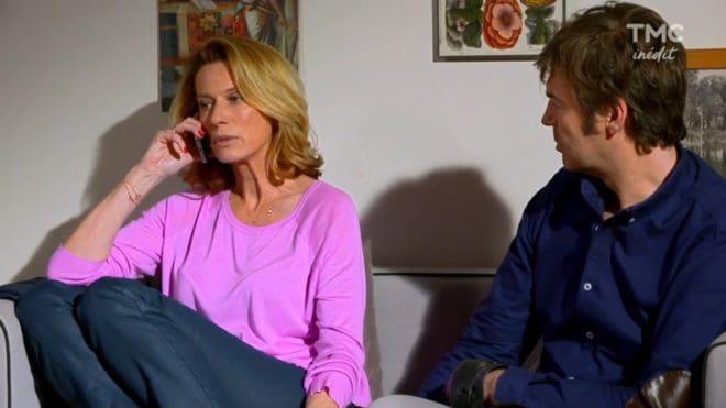 """Audrey et Étienne (Les Mystères de l'Amour saison 17, épisode 13 """"Complications en chaîne"""")"""