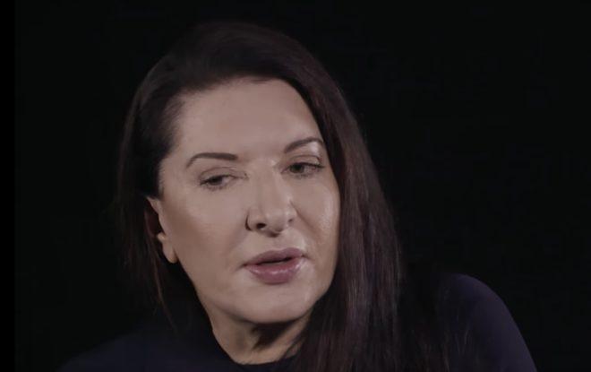 L'artiste Marina Abramović
