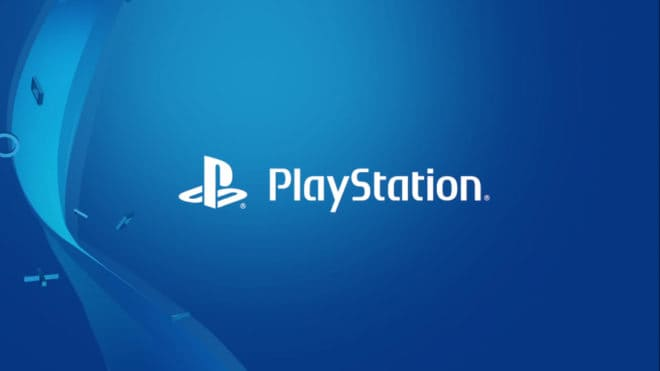 Illustration. le logo PlayStation.