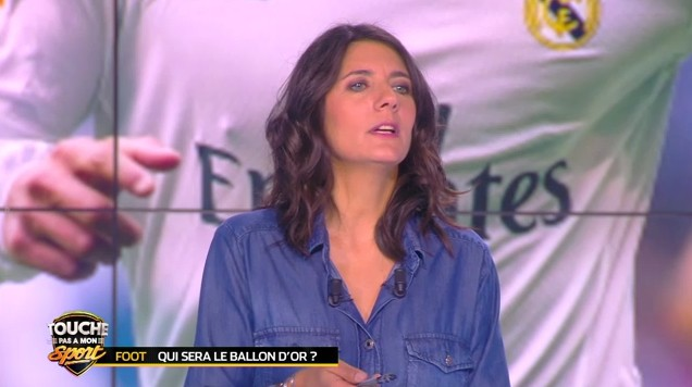 Estelle Denis sur C8.