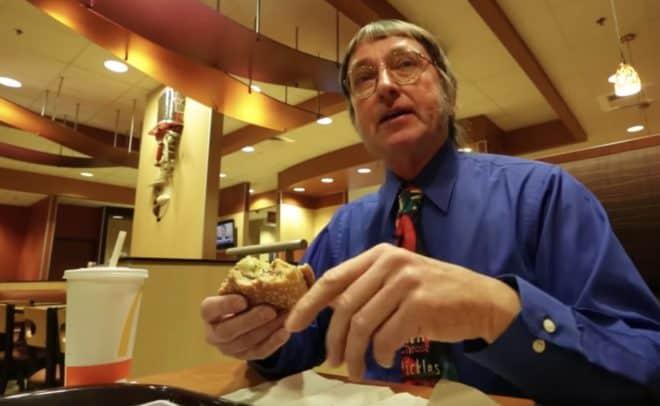 Don Gorske, pour son 29.000e Big Mac.