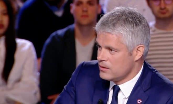 Laurent Wauqiez sur le plateau de l'Emission Politique le 18 mai 2018