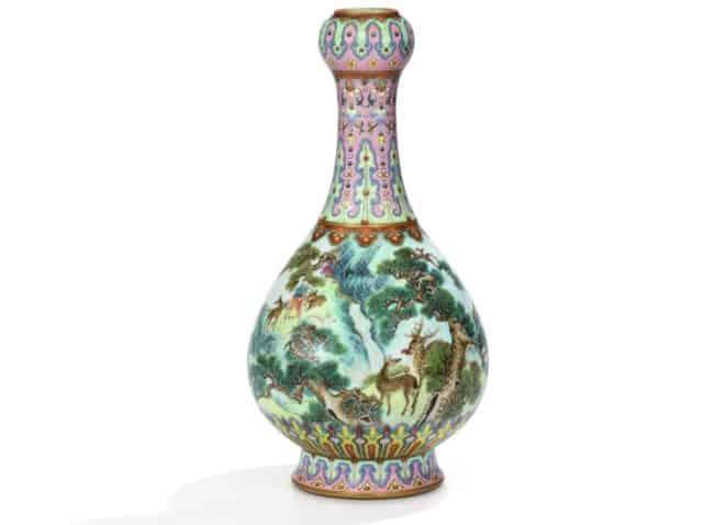 Le vase impérial chinois vendu par Sotheby's en juin 2018