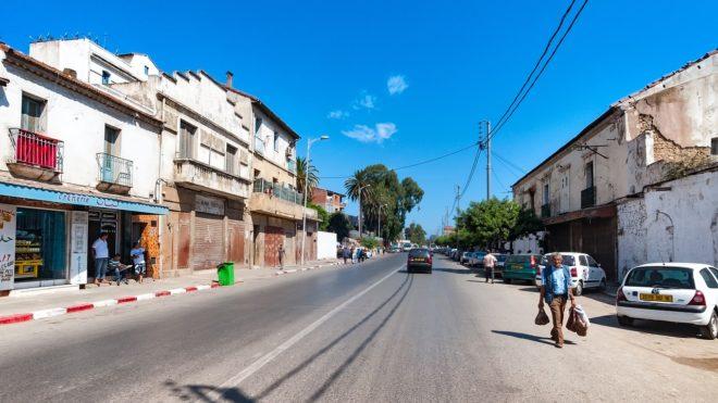 Alger, capitale de l'Algérie. Image d'illustration.