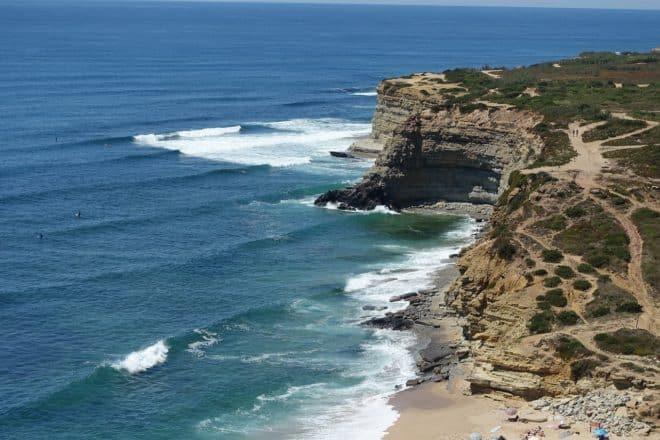 Localité d'Ericeira, au Portugal. Image d'illustration.