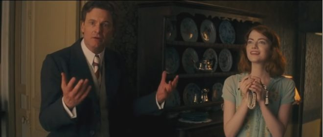 "Colin Firth et Emma Stone dans ""Magic in the Moonlight"""