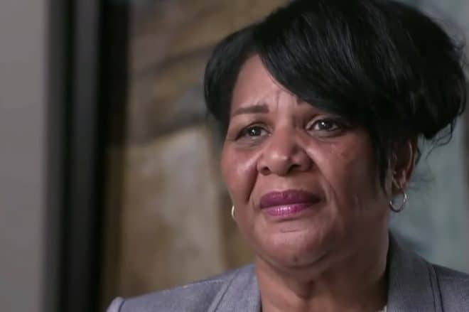 Alice Marie Johnson, graciée par Donald Trump en juin 2018.