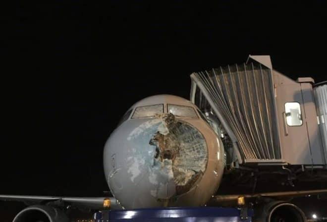 Le nez arraché d'un vol San Antonio-Phoenix (3 Juin 2018)