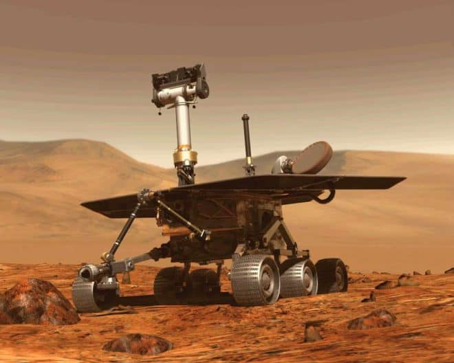 Le rover martien Opportunity.