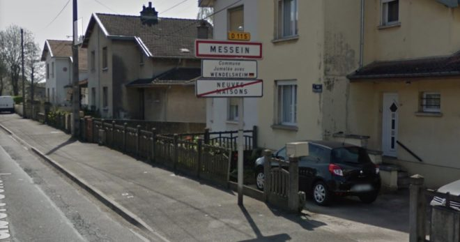 L'entrée de Messein, en Meurthe-et-Moselle.