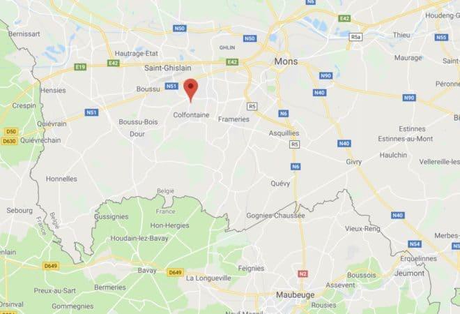 Wasmes, en Belgique