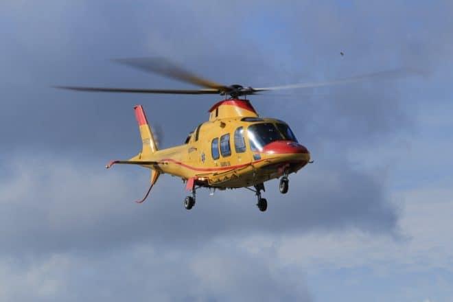 Un hélicoptère du SAMU. Image d'illustration.