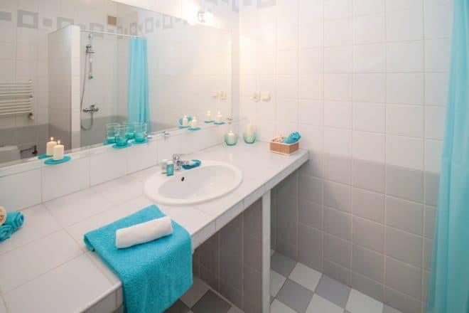 Une salle de bains. Image d'illustration.