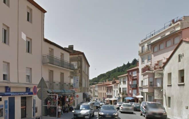 Le Perthus (Pyrénées-Orientales), Avenue de France.